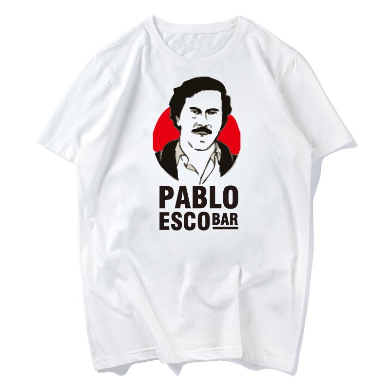 Narcos Pablo Escobar Narcos T Shirt - King Of Cocaine