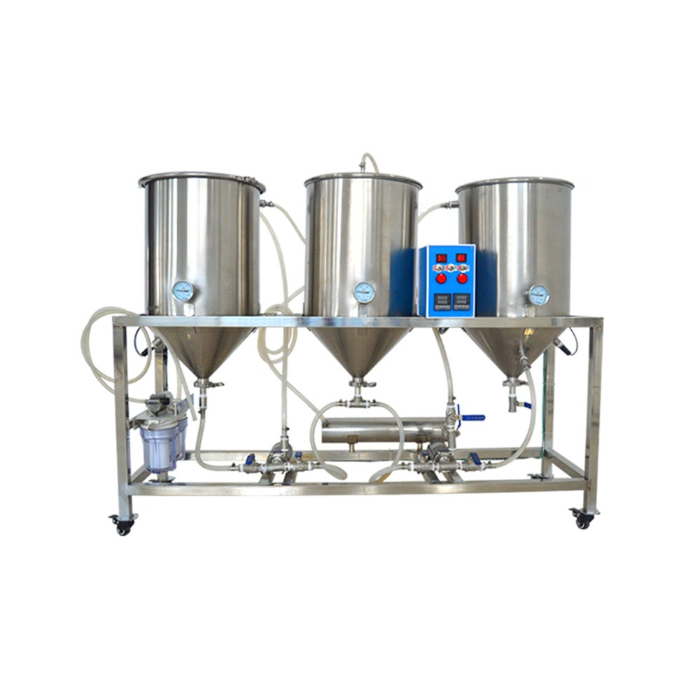 Semi-automatic Craft Beer Machine Beer Kit 50L Homebrew Beer Brewing  Brewery Cerveza Beer Maker For Home Brew
