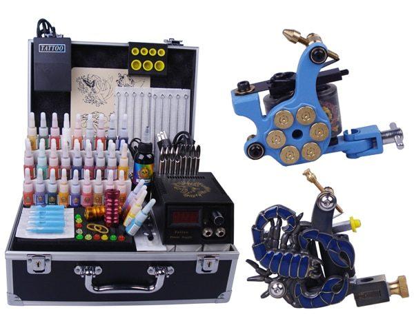 Tattoo Kit Digital Permanent Makeup Rotary Tattoo Machine Set Taty Body Art  YLT-106 Starter Tattoo Kits