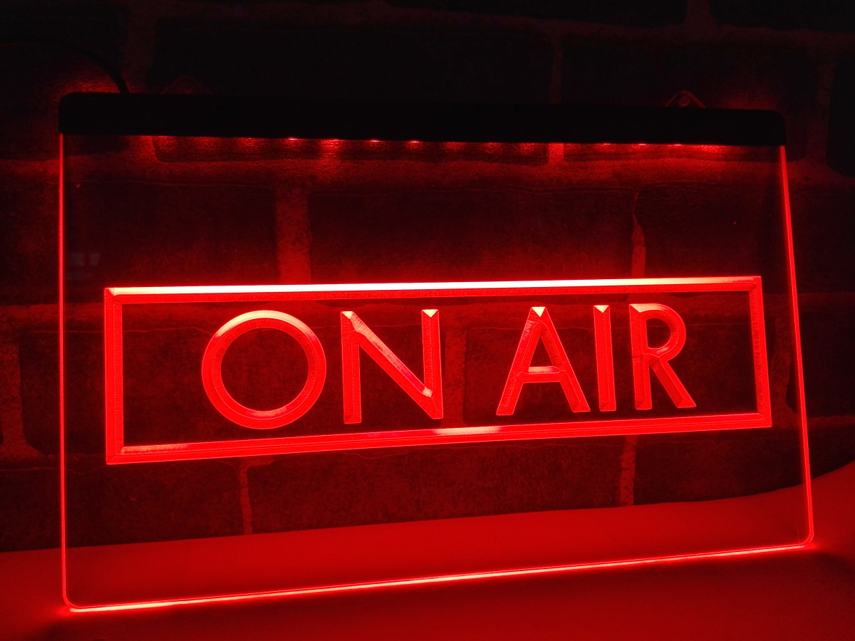 On Air Recording Studio LED Neon Light Sign
