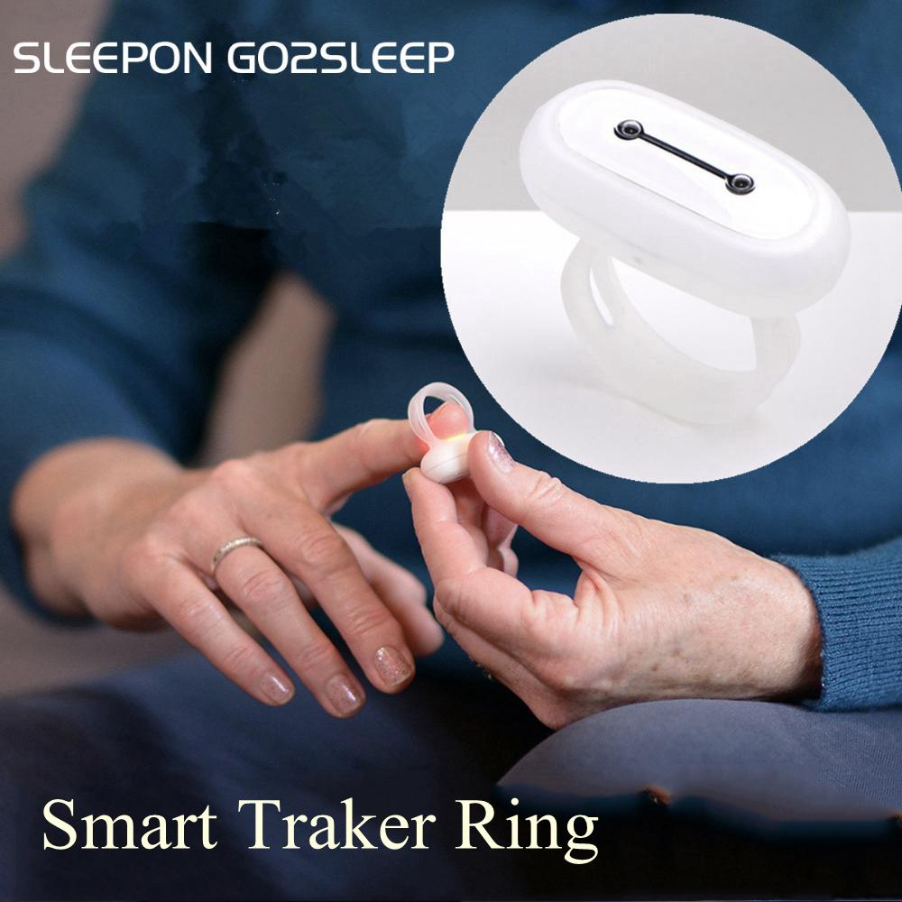 SLEEPON GO2SLEEP Smart Ring Sleep Fitness Tracker Heart Rate Blood Oxygen Monitor Ring SPO2 Multifunction Intelligent Sleepons