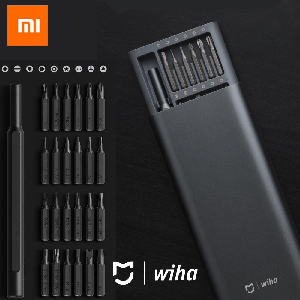 Xiaomi Mijia Wiha Daily Use Screw Kit 24 Precision Magnetic Bits Alluminum Box Screw Driver