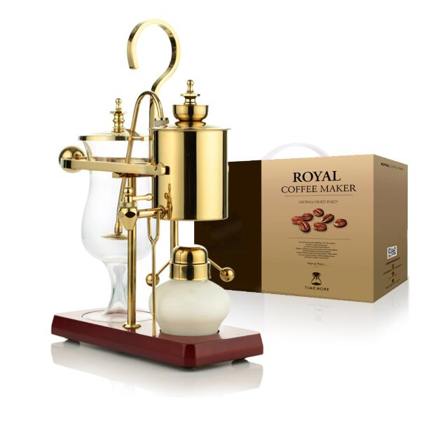 Royal balancing siphon coffee machine/belgium coffee maker syphon vacumm coffee brewer