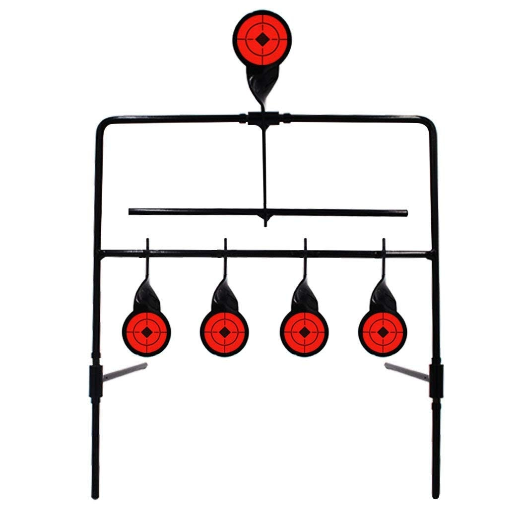 Target 4 Targets Automatic Reset Rotating Outdoor Hunting Target Set