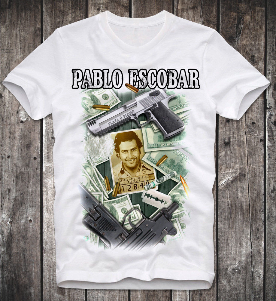 T SHIRT PABLO ESCOBAR SCARFACE