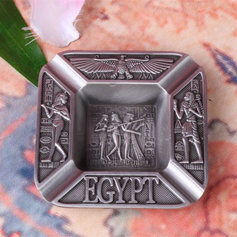 gyptian Totem Cigar Ashtrays Ancient Egyptian