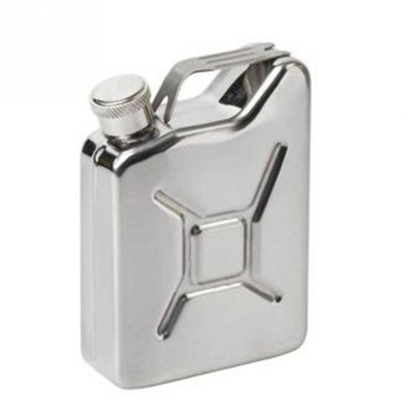 Flask 5 oz Steel Fuel Petrol