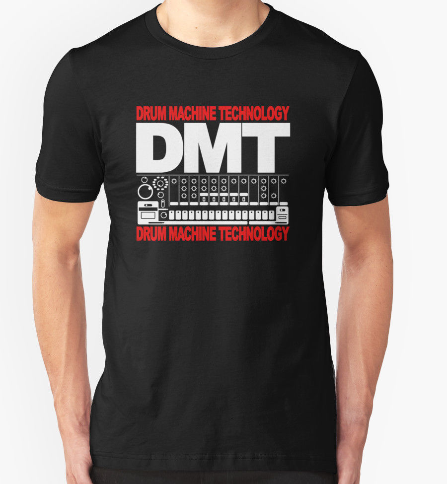 Dmt T Shirt Drum Machine Technology