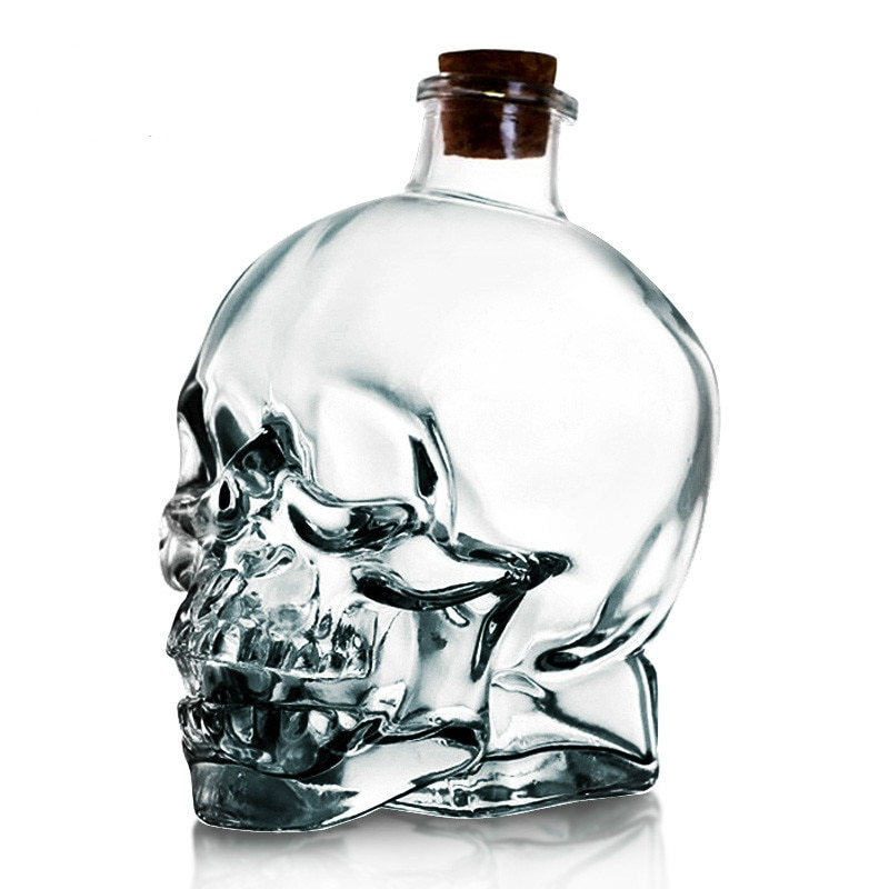 Crystal Skull decanter two – 750ml