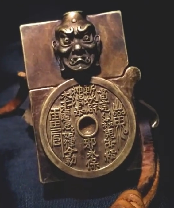 zippo insert Ghost & Buddha pure brass Handmade 200 gram lighter