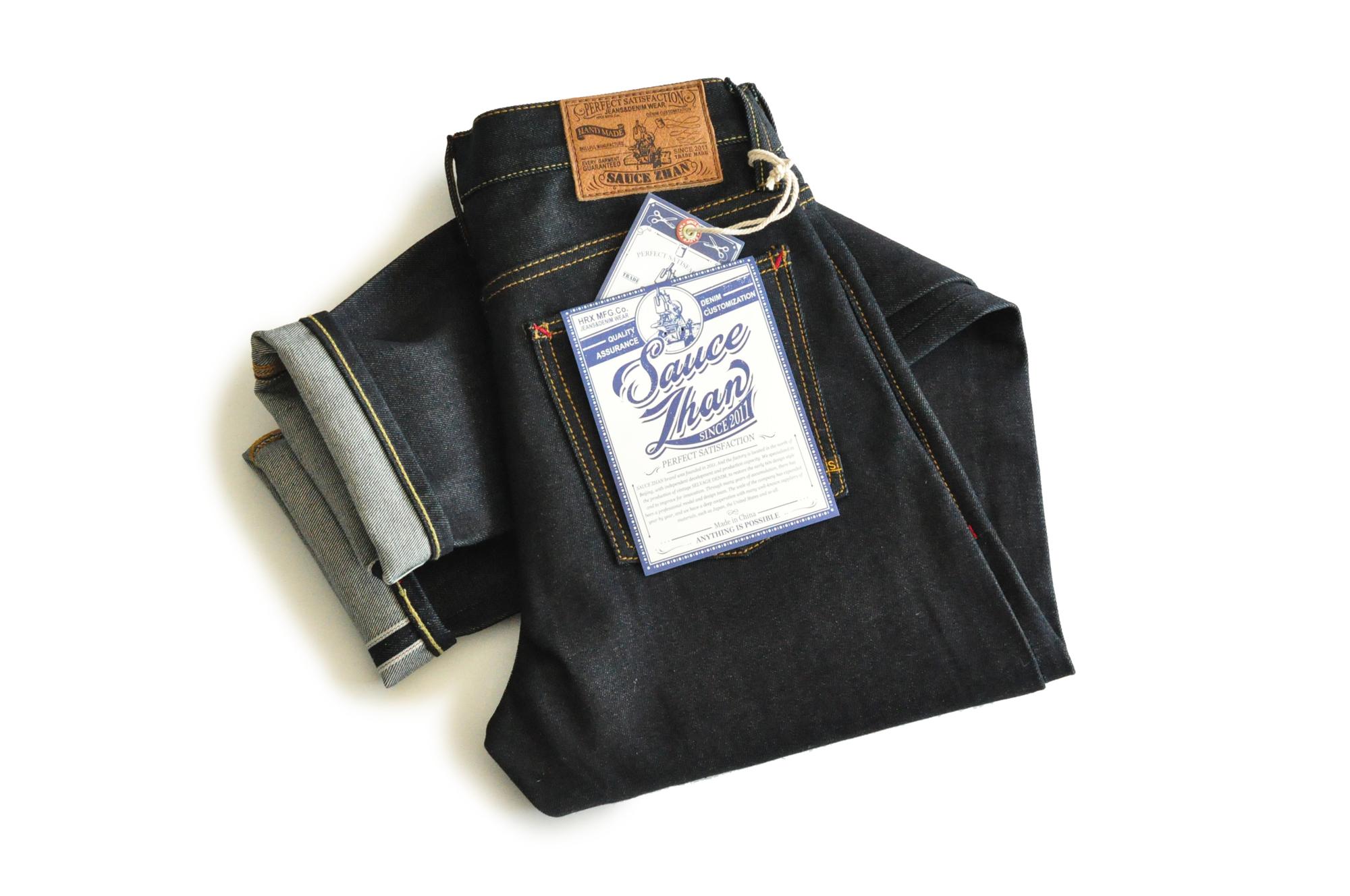 Sauce Zhan 310XX-HS Men's Jeans Slim Fit Jeans Raw Denim